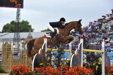 """EDWINA TOPS-ALEXANDER (AUS) riding Itot du Chateau"