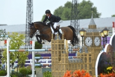 """NICK SKELTON (GBR) riding BIG STAR"