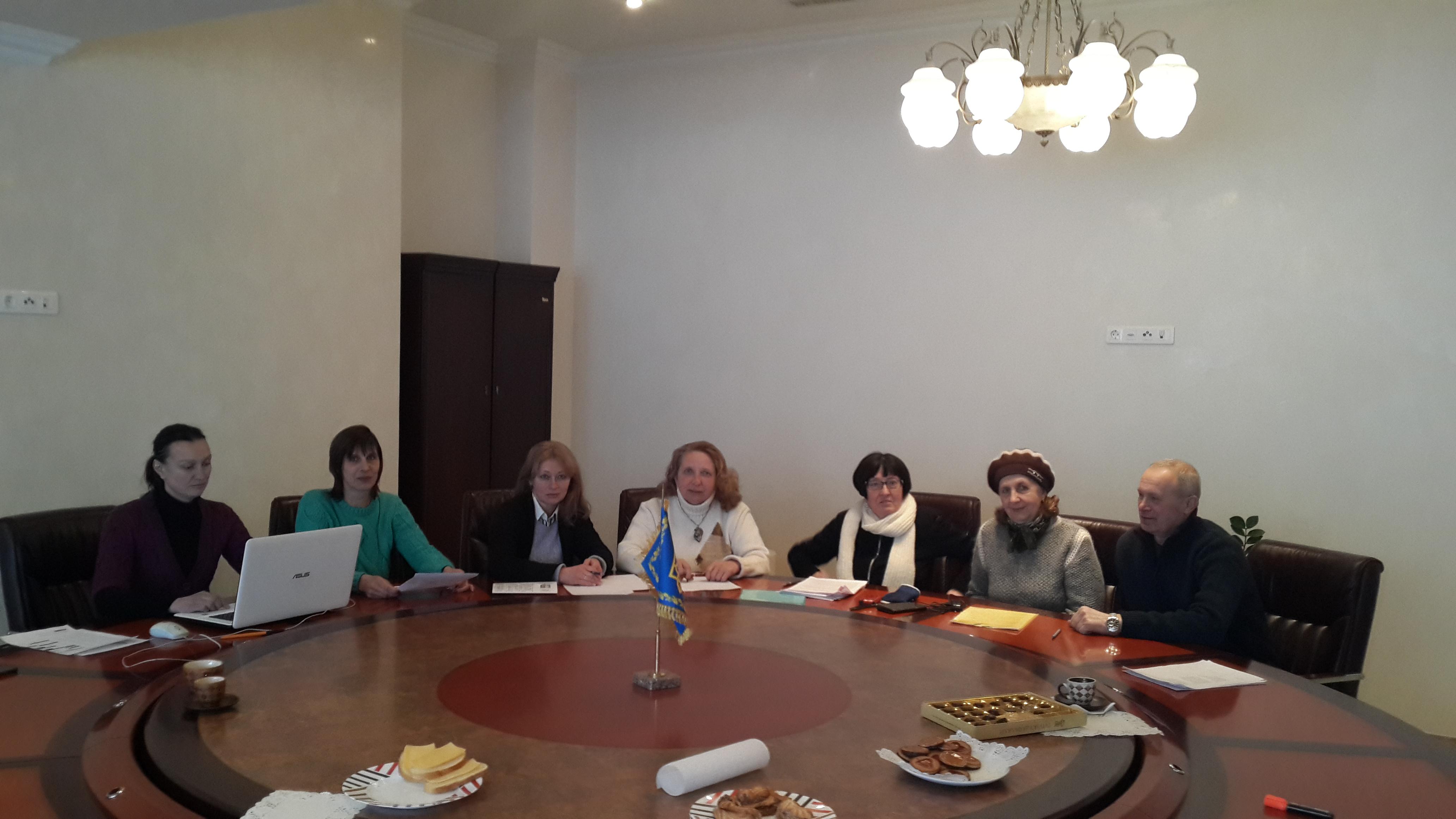 Заседание аттестационной комиссии Коллегии судей ВФКСУ (выпуск журнала №40)
